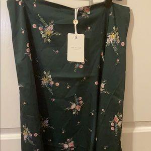 Ted Baker London Skirts - Ted Baker Flourish Asymmetric Skirt